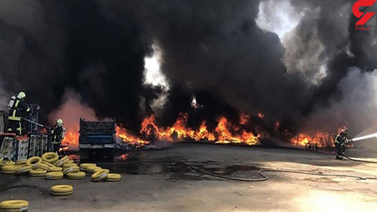 آتش سوزی سلیچ آبادان زیر سر تروریست ها بود