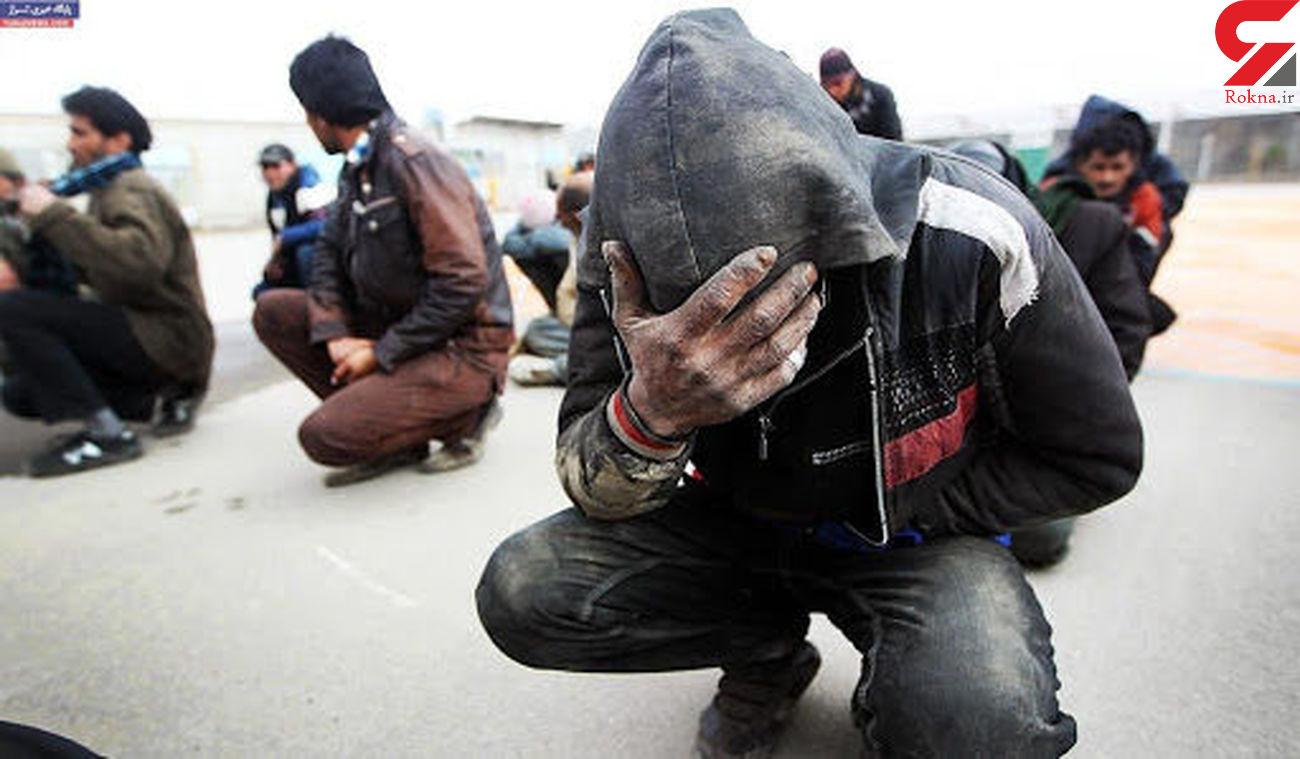 دستگیری 6 خرده فروش و مصرف کننده مواد مخدر در مسجد سلیمان