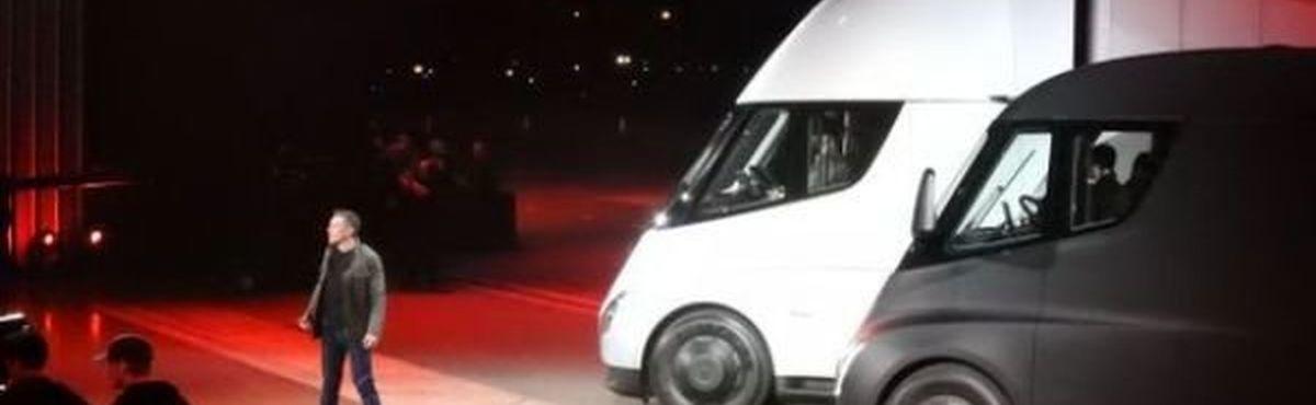 کامیون الکتریکی تسلا دنده و کلاچ ندارد