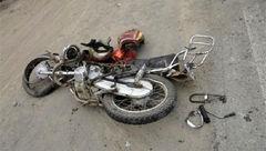 تصادف مرگبار مرد موتورسوار در فریمان