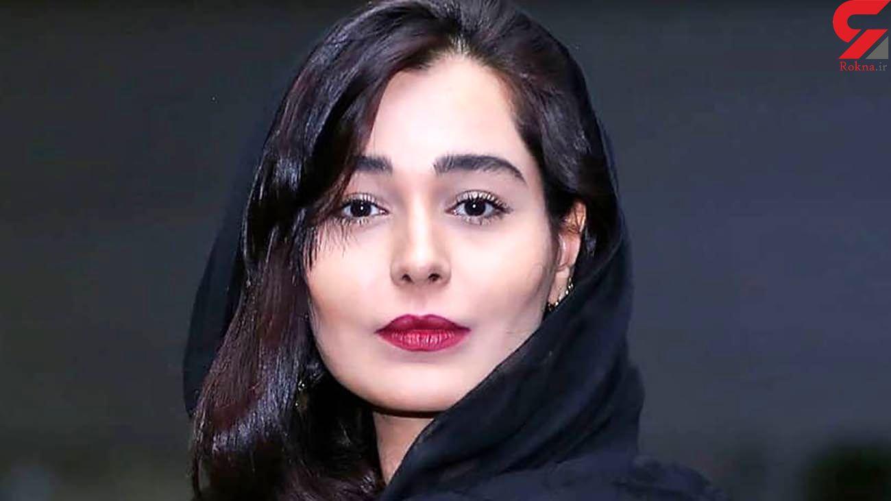 جشن تولد سانیا سالاری بازیگر سریال گیسو +عکس
