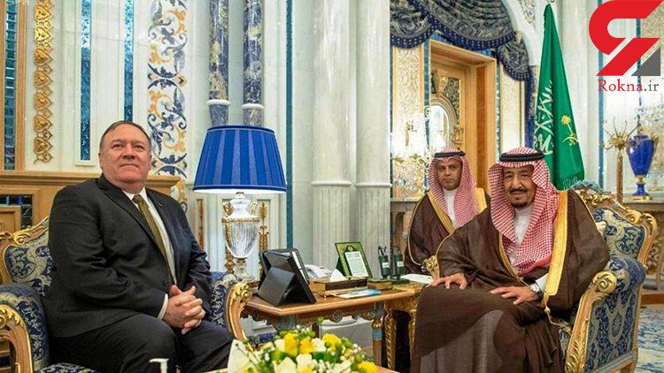 دیدار پمپئو با مقامات عربستان و قطر با محوریت ایران