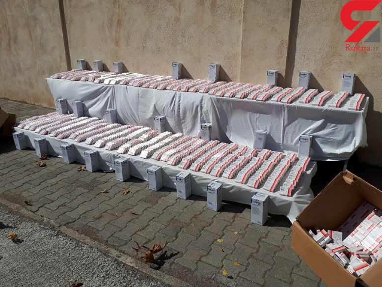 کشف آمپول های مرفین قاچاق در مرز ماکو