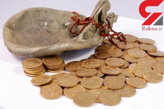 سکه های ساسانی در فرودگاه کرمانشاه +عکس