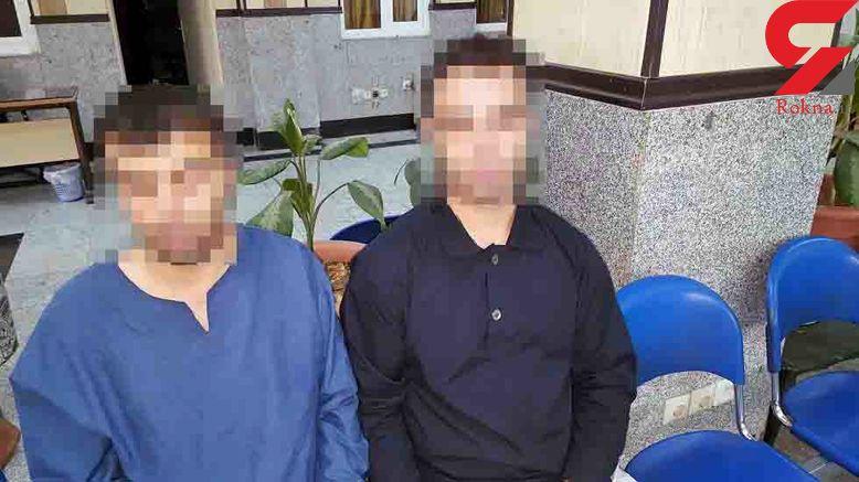 فرار جوان لخت از دست 2 شرور در نیمه شب تهران + عکس لحظه فرار