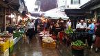 بارندگی میوهها را خانه نشین کرد/ میدان ترهبار تهران خالی از میوه