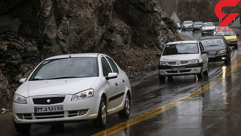 ترافیک سنگین در محور شهریار-تهران