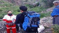 کوهنورد مفقود شده در ارتفاعات قزوین نجات یافت