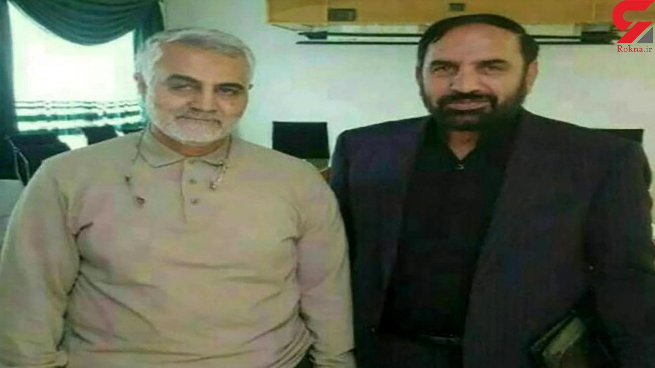 مشاوره سردار سلیمانی به همرزمان شهیدش پیوست + عکس کنار حاج قاسم