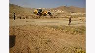 تخریب 4 بنای غیر مجاز در شهرستان البرز
