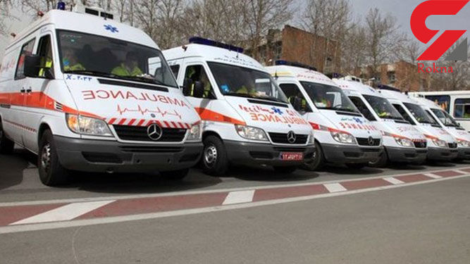 استقرار آمبولانس و اتوبوس در میادین اصلی پایتخت
