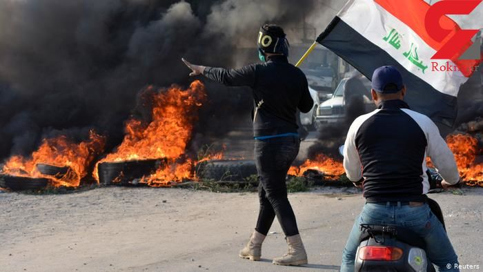 2 فیلم از آشوب در ناصریه عراق  / شهر سقوط می کند؟! + تصویر