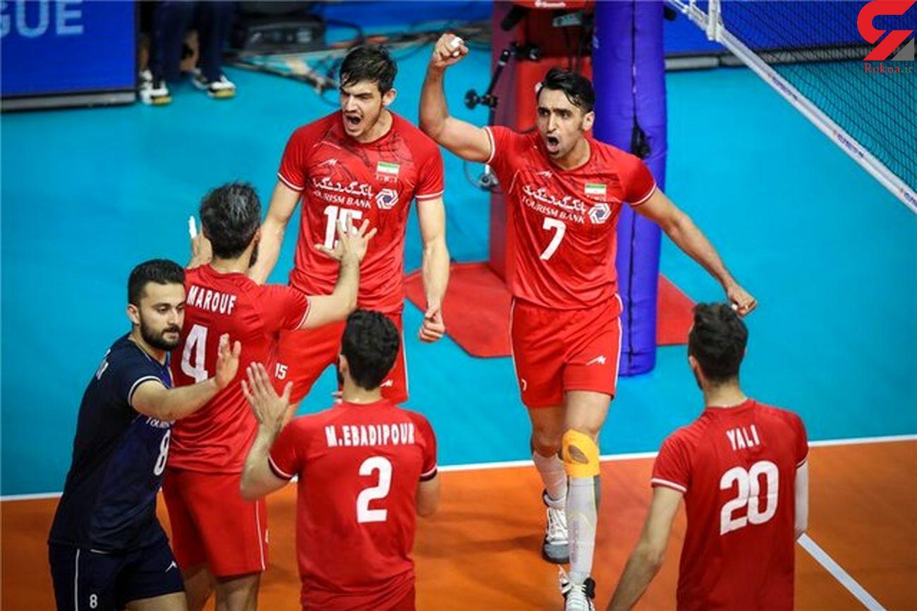 والیبال ژاپن مغلوب ایران شد
