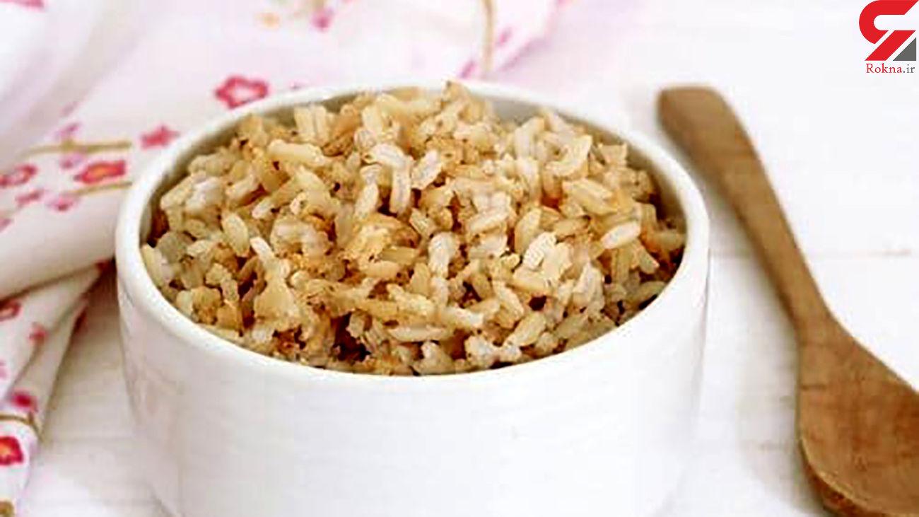 خواص باورنکردنی برنج قهوهای