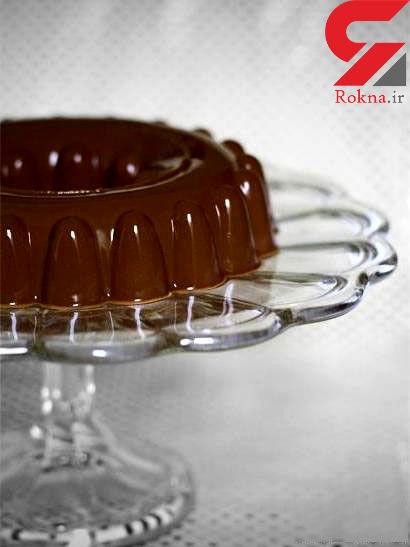 ژله شکلات تلخ دسری مخصوص دورهمی های خانوادگی + دستور تهیه