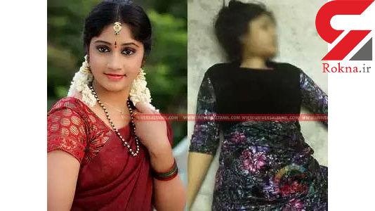 اولین عکس از خودکشی بازیگر زن معروف هندی در خانه اش + عکس 16+