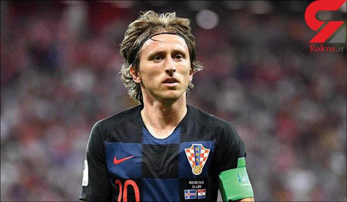 واکنش مودریچ به باخت سنگین تیم ملی کرواسی