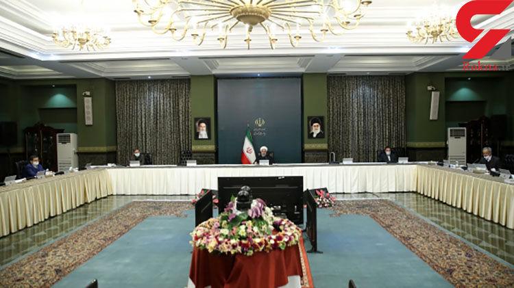 روحانی : مقررات سخت تری از امروز تا ۲۰ فروردین اعمال می شود + فیلم