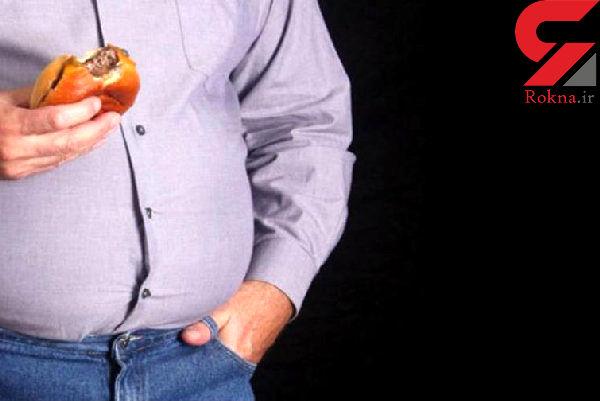 اضافه وزن سبب کاهش تستوسترون در مردان می شود
