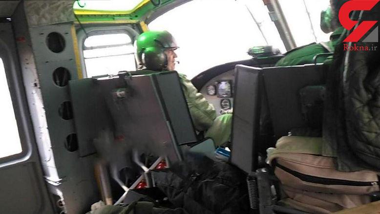 فداکاری خلبان شهید پلیس در صحنه سقوط مرگبار! / 8 نفر زنده ماندند + عکس