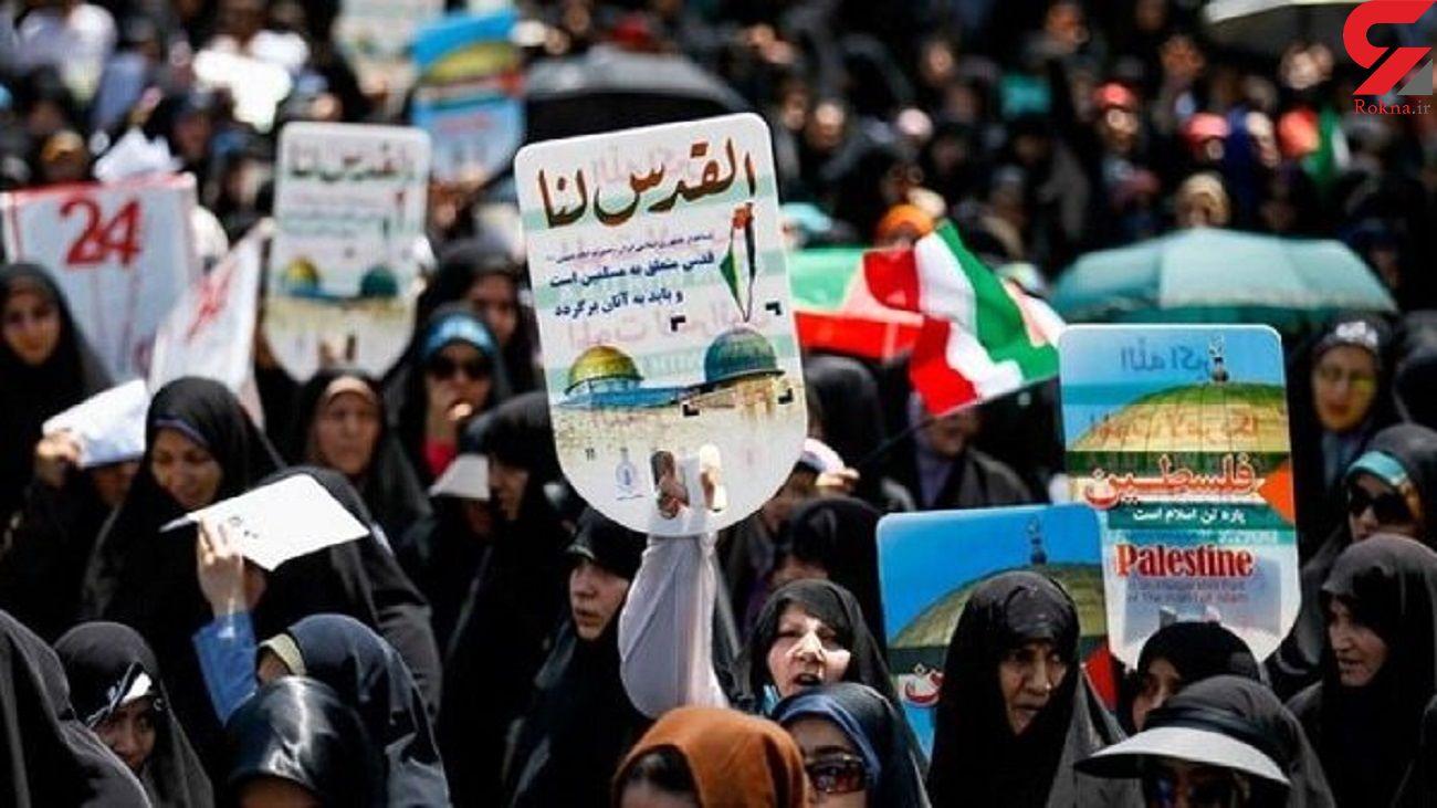 راهپیمایی روز قدس  به صورت حضوری و خودرویی لغو شد