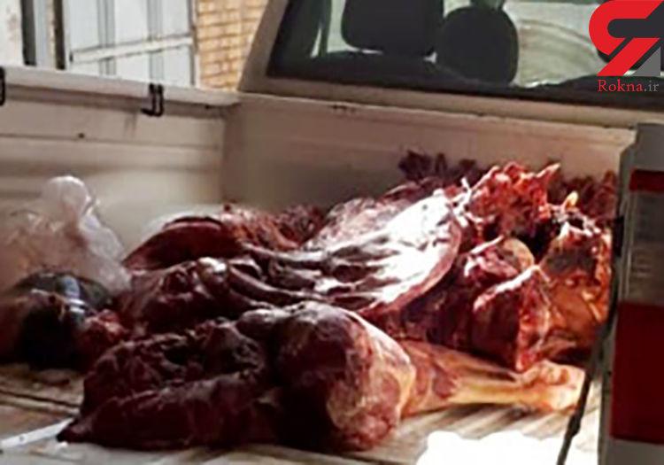 ضبط ۳۰۰ کیلوگرم گوشت قرمز غیر بهداشتی در لردگان