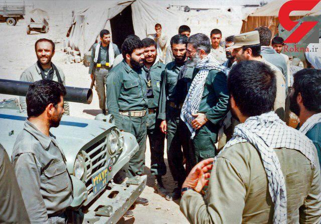 رهبر معظم انقلاب در لباس پاسداری و ۱۰ تعبیر ایشان درباره سپاه