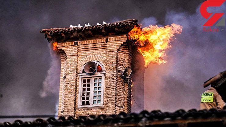 آتش سوزی مسجد جامع ساری امنیتی نبوده است