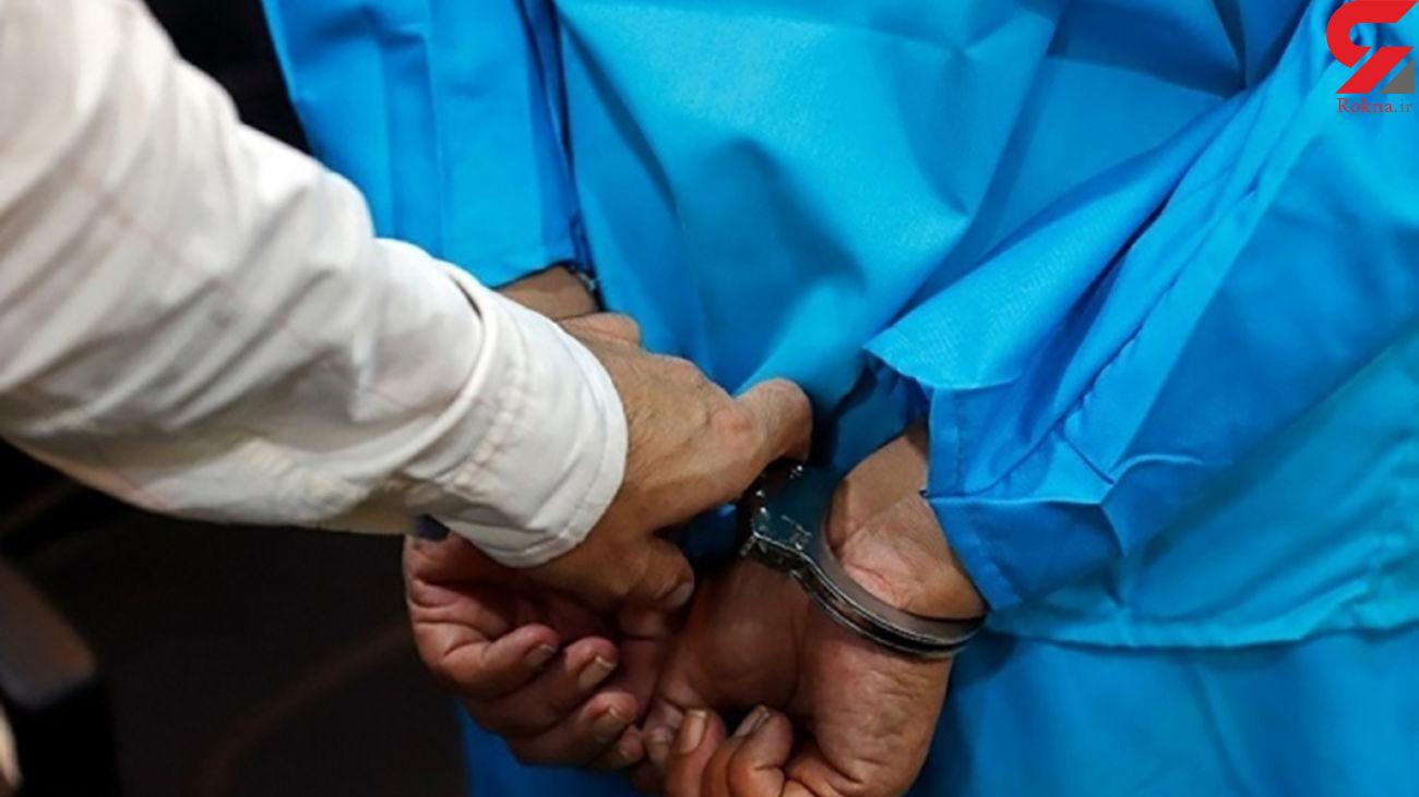 دستگیری سارق قاپ زن با 5 فقره سرقت در قم
