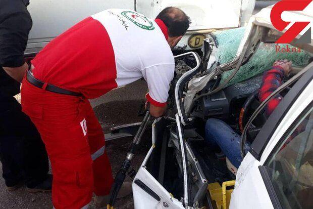 4 کشته و زخمی در تصادف محور ایلام