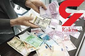 نرخ انواع ارز در بازار آزاد