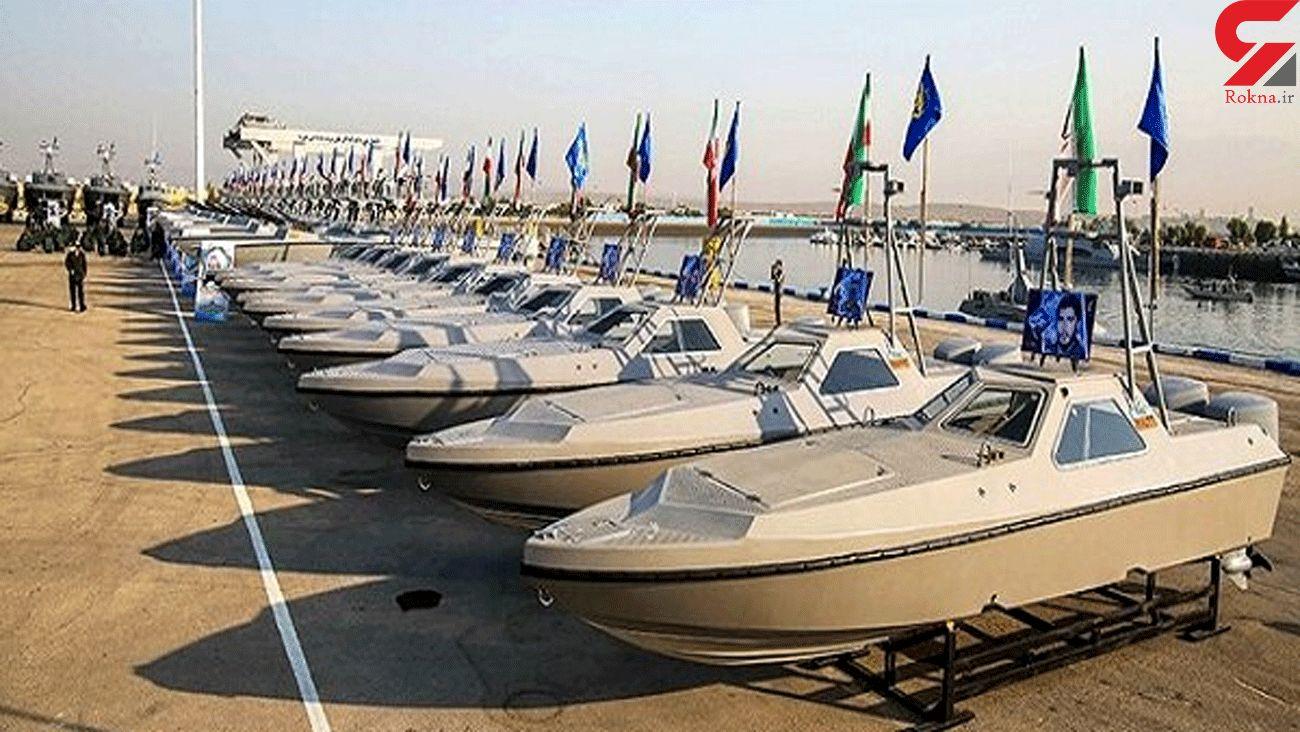 340 speedboats join IRGC Navy