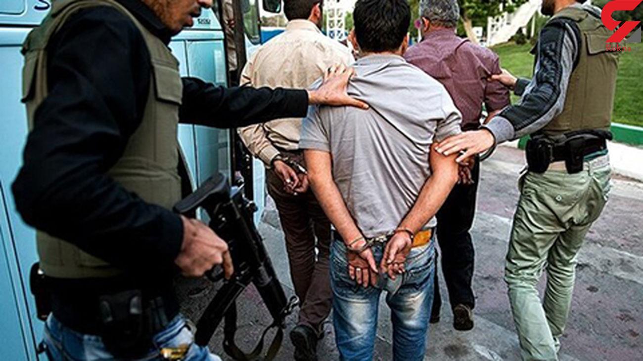 پایان فرار 47 متهم فراری در شیراز / پلیس آنها را غافلگیر کرد +عکس