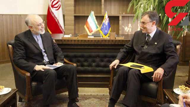 دیدار سفیر استرالیا در ایران با علیاکبر صالحی معاون رییسجمهور