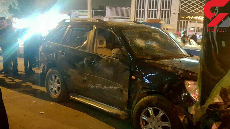 سارق خودرو در تبریز با تیراندازی متوقف شد