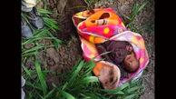 زنده به گور کردن  نوزاد به خاطر دستور یک جن!+عکس
