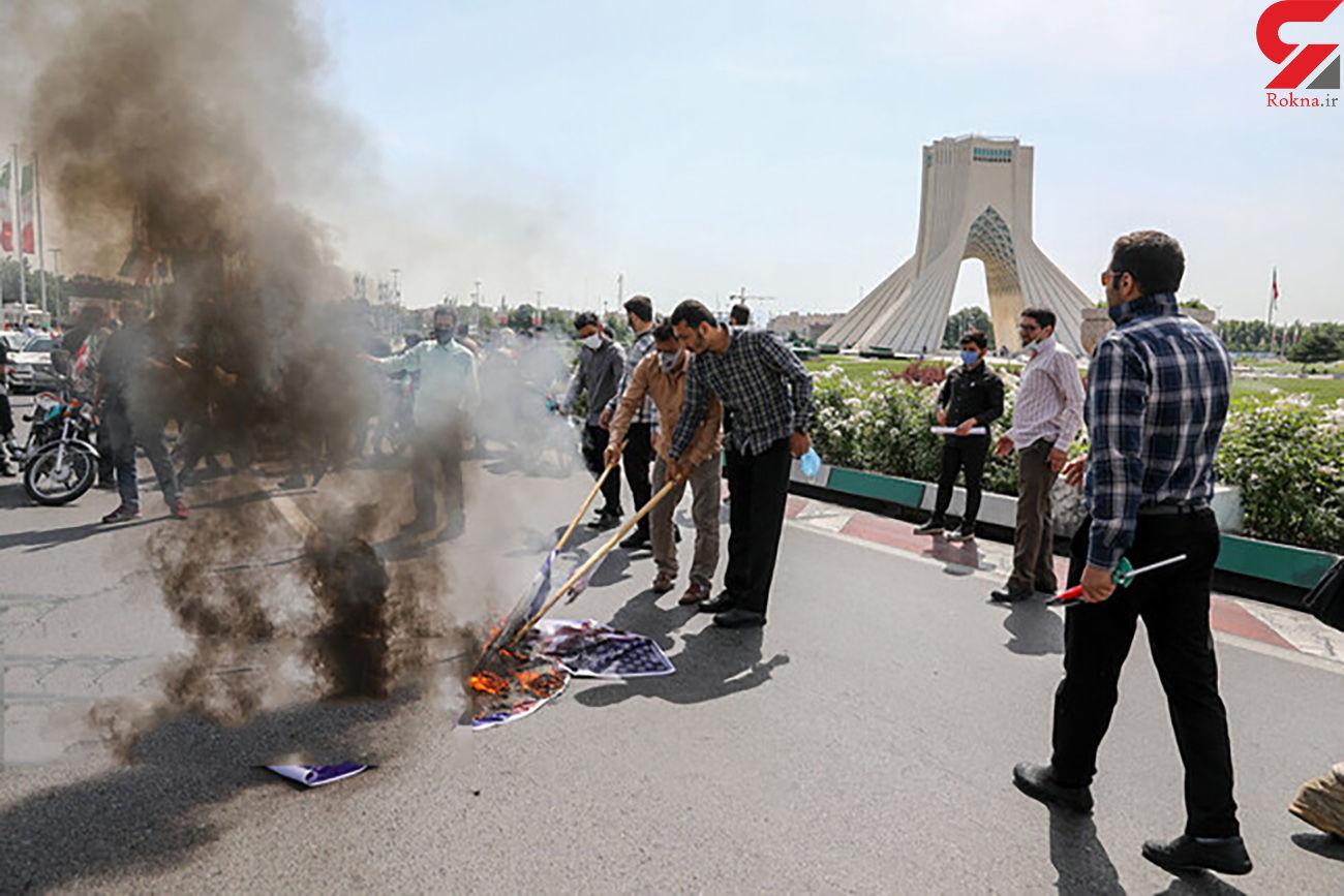 حال و هوای روز جهانی قدس در تهران +تصاویر