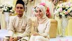این دختر مسلمان یک روز قبل از مرگش عروس شد / او به سرطان مبتلا بود +تصاویر