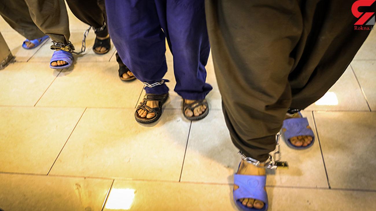 بازداشت 4 زورگیر خشن در نور