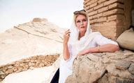 خانم بازیگر مشهور هالیوود سر از ایران درآورد