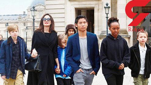 ترس برد پیت از دزدیده شدن فرزندانش توسط آنجلینا جولی !