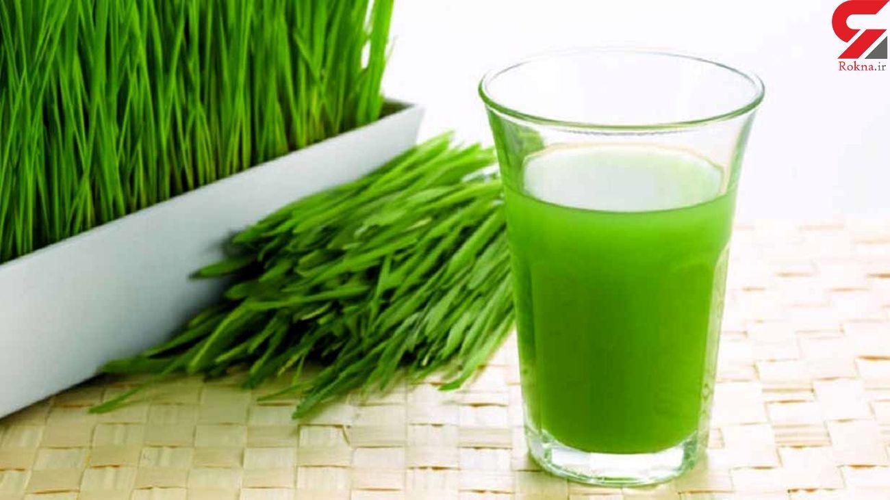 خواص بی نظیر آب سبزه گندم