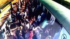 التماسهای دلخراش یک زن مصدوم در ایستگاه مترو