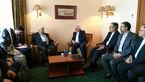 آغاز مذاکرات دو جانبه وزرای خارجه ایران و سوریه در مسکو+عکس
