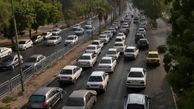 وضعیت ترافیکی معابر بزرگراهی پایتخت در نخستین پنجشنبه آبان