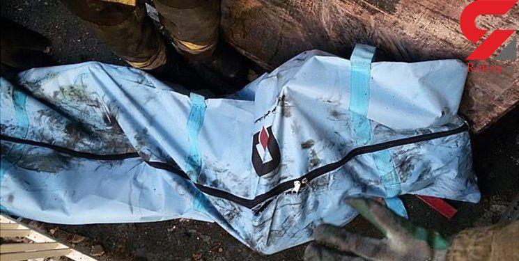 مرگ آنی یک مرد زیر اتوبوس در فضای سبز بزرگراه یاسینی + عکس جسد