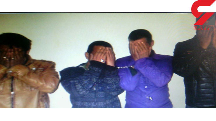 این ۴جوان متهم پرونده ۲۵سرقت در کاشمر هستند+ عکس