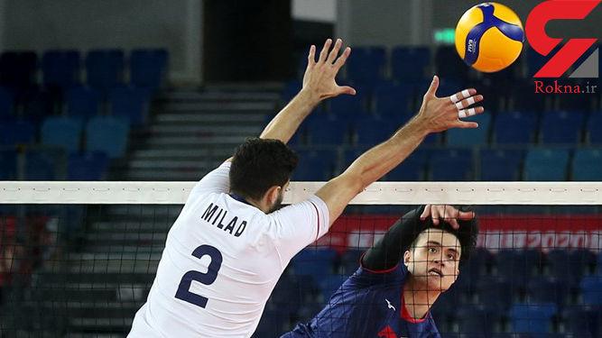 بروزرسانی - والیبال انتخابی المپیک / ایران صفر - کرهجنوبی یک؛ شکست در ست اول