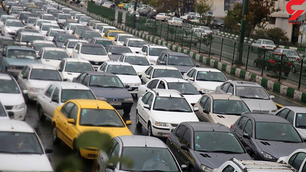 وضعیت ترافیکی معابر تهران شنبه 26 تیرماه