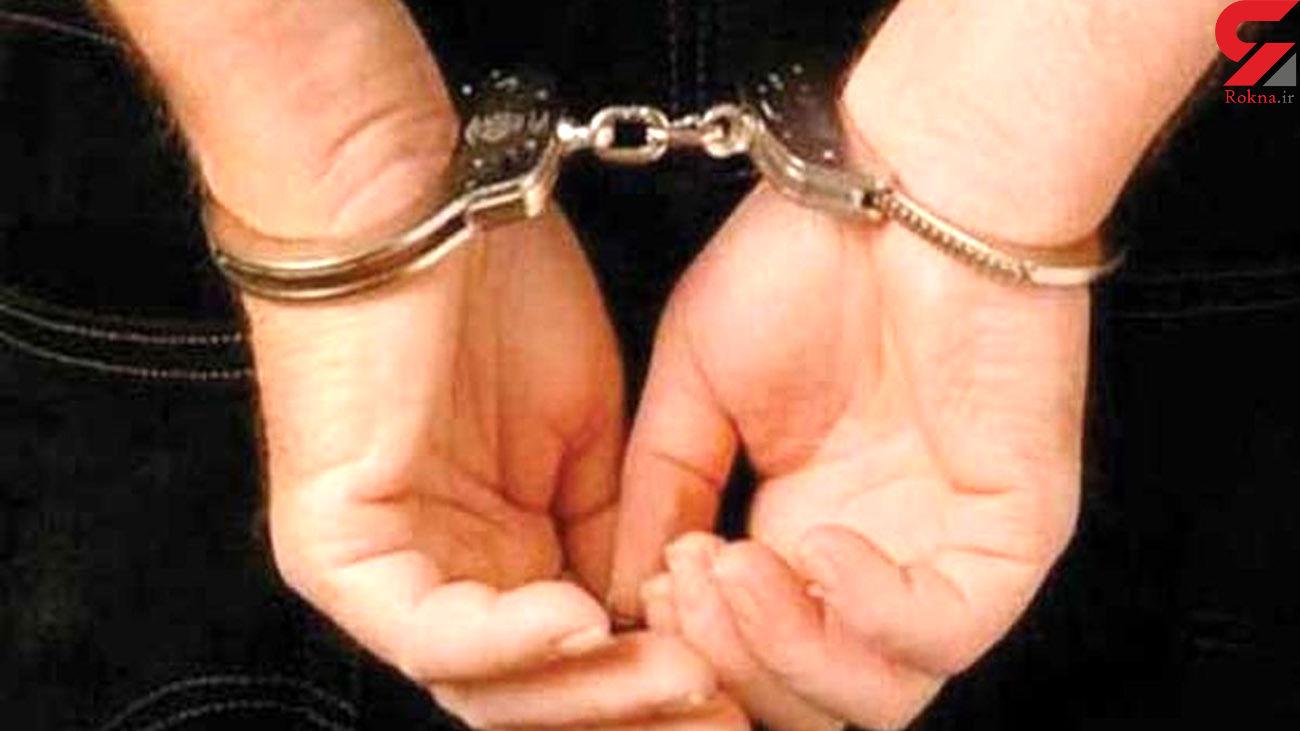 شرور سابقه دار نوشهر به دام پلیس افتاد
